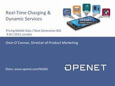 Mobile Phone Charger Real Time Dynamic by Openet Dynamic Services Real Time Charging 9 Oct 2013