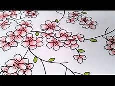 Menggambar Bunga Dengan Cara Sederhana Buat Pemula