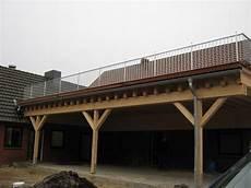 Carport Mit Dachterrasse Worpswede