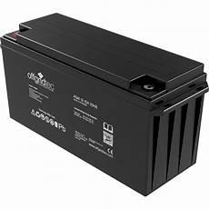 12 Volt 150ah Agm Batterie 12v Solarkakku