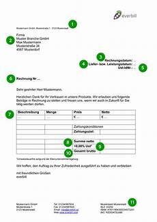 rechnung muster gratis downloaden everbill magazin