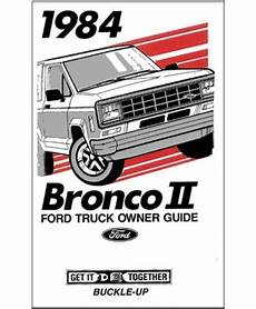 how to download repair manuals 1984 ford bronco ii lane departure warning 1984 ford bronco ii owners manual