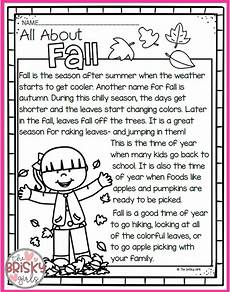 seasons worksheets for grade 3 14801 the four seasons reading passages take home packet