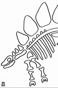 Malvorlage Dino Skelett Malvorlage Dino Skelett