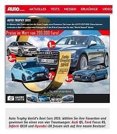 Audi Q5 Gewinnen Beim Auto Zeitung Gewinnspiel