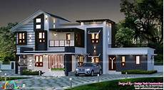 contemporary house plans in kerala 2609 sq ft 5 bhk modern house plan kerala home design