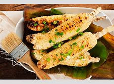 corn on the cob with shallot thyme butter_image
