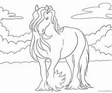 Ausmalbild Pferde Fohlen Ausmalbilder Mit Pferden Kostenlos
