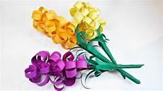Blume Basteln Kinder - paper flowers hyacinths diy tutorial paper flower