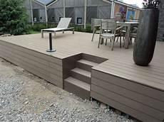 Exemple De Terrasse Terrasse Sur Pilotis Idee Am 233 Nagement Glycines En 2019