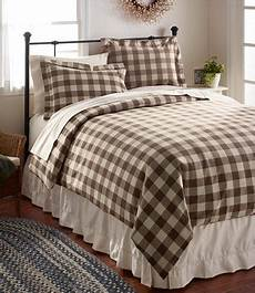 ultrasoft comfort flannel bedding coffe driftwood brown off white buffalo plaid check
