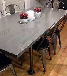 Esstisch Grau Gebeizt - gray gel stained table general finishes design center