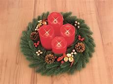 christmaxx adventskranz mit led echtwachskerzen ohne