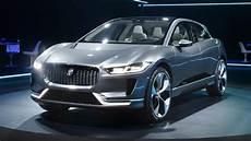 New Jaguar I Pace Is A 400bhp Tesla Baiting Electric Suv