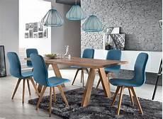 Stühle Modern Esszimmer - schalenstuhl stuhl esszimmer modern blau eiche massiv