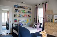 Wallpaper Boy Bedroom Ideas Pictures by Room With Stacked Book Ledges Transitional Boy S Room