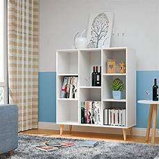 better homes and gardens office furniture homfa 8 cube storage organizer shelf modern bookcase diy