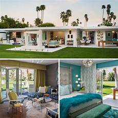 a mid century desert oasis in palm a combination of mid century modern and
