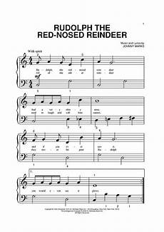 rudolph the red nosed reindeer sheet music by john denver reindeer search and red