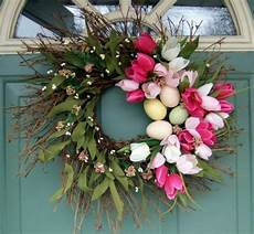 how to make a chic easter wreath itself interior design