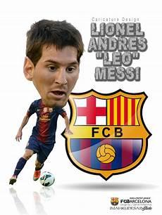 Gambar Lionel Messi Kartun