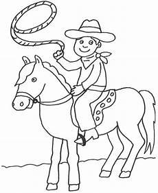 Ausmalbilder Indianer Kostenlos Ausdrucken Ausmalbild Cowboys Indianer Cowboy Auf Seinem Pferd