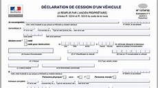 cerfa vente véhicule formulaire cerfa vente voiture occasion voiture d occasion