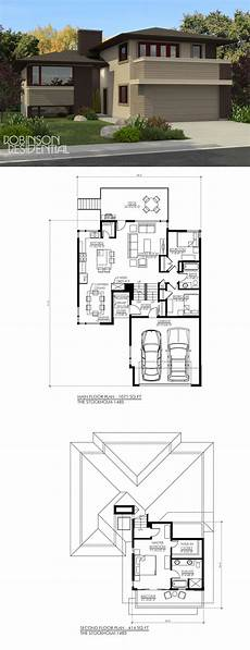 bungaloft house plans prairie stockholm 1473 robinson plans narrow lot house