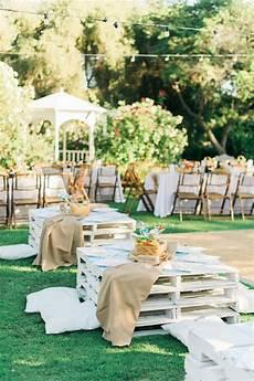 cute ideas for wedding reception tables cute picnic california wedding wedding reception ideas