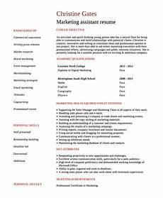 free marketing resume templates 26 free word pdf documents download free premium templates