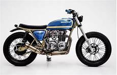 honda cb550 tracker by herencia custom garage bikebound