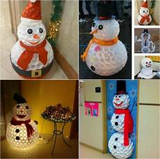 How To Make Snowman Out Of Plastic Cups 1mhowto