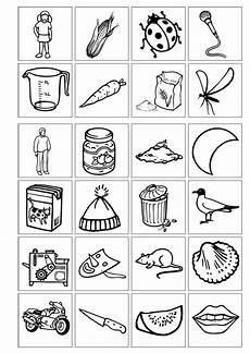 Kinder Malvorlagen Memory Bildkarten Mit F Im Anlaut Artikulation Anlaute