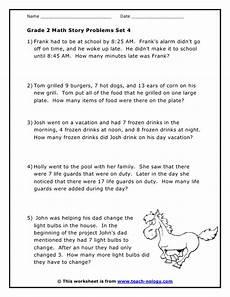 word problem addition worksheets for grade 2 9562 grade 2 word problems set 4