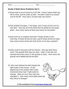 math word problems worksheets grade 2 11276 grade 2 word problems set 4