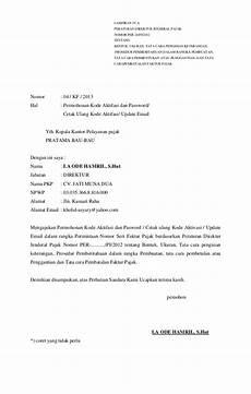 contoh surat pemberitahuan pembatalan faktur pajak ke kpp viral news top