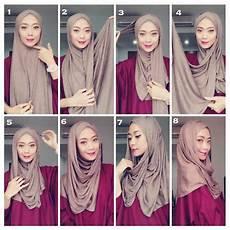 Cara Memakai Jilbab Pashmina Kaos Wordpre474
