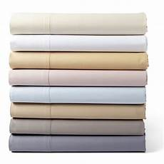 hudson park 600 tc solid 100 cotton xl fitted sheet slate