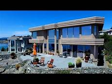 contemporary home design oceanfront house with amazing view in canada youtube