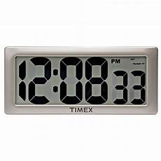 75071t timex intelli time digital wall clock 13 5 quot