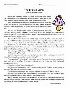 resources fifth grade reading worksheets