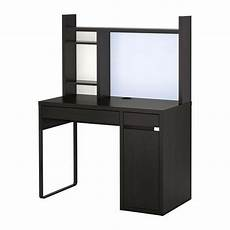 Schreibtisch Ikea - ikea micke desk table computer work station storage black