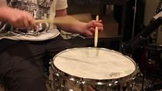 remo fiber skyn drumhead demo remo ambassador fiberskyn