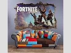 48 Best Fortnite Stickers, Decals & Wall Art For Bedrooms