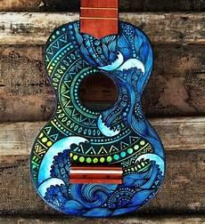pin by jaynie jones on painted ukulele guitar