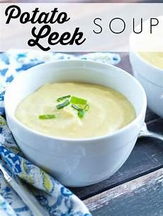 potato leek soup happy healthy