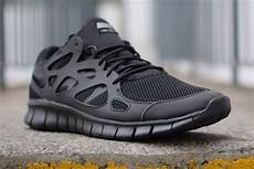 nike free run 2 black of many