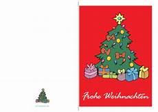 weihnachtskarte frohe weihnachten baum pdf vorlage