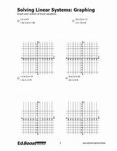 systems of linear equations graphing worksheet pdf tessshebaylo
