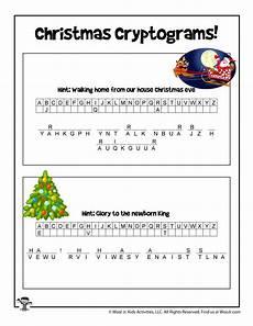winter cryptogram worksheets 19979 secret code puzzle woo jr activities